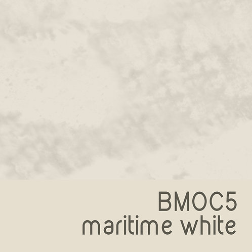 BMOC5 Maritime White