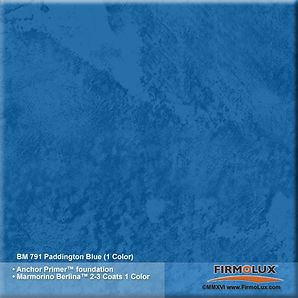 FirmoLux Venetian Plaster sample finishes and colors