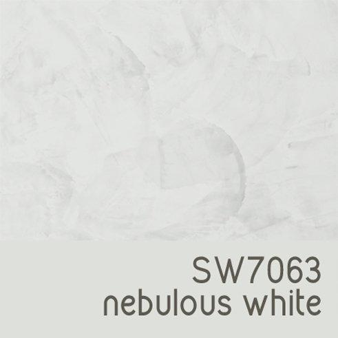 SW7063 Nebulous White
