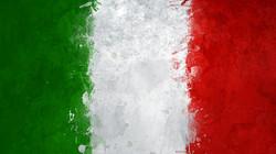 Italian Flag with Venetian Plaster