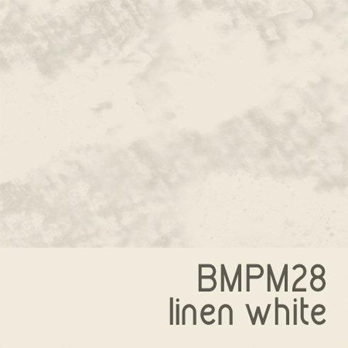 BMPM28 Linen White