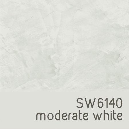 SW6140 Moderate White