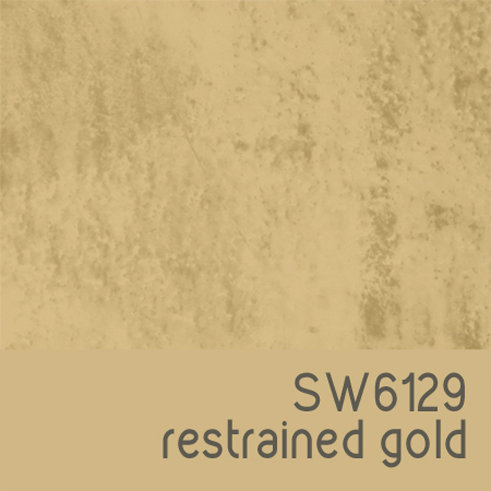 SW6129 Restrained Gold