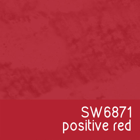 SW6871 Positive Red