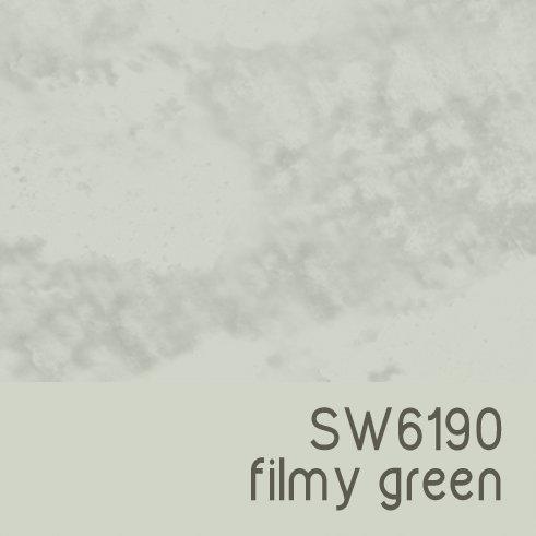 SW6190 Filmy Green