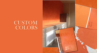 FirmoLux Venetian Plaster Custom Colors