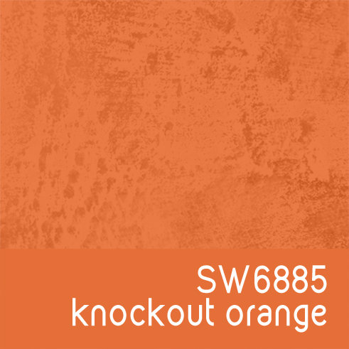 SW6885 Knockout Orange