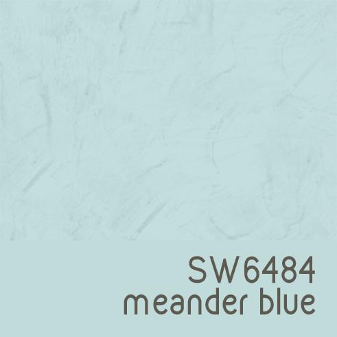 Sherwin Williams 6484 Meander Blue
