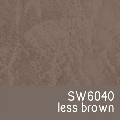 SW6040 Less Brown