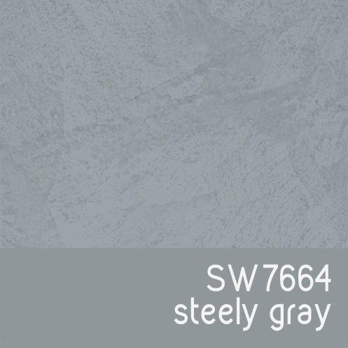 SW7664 Steely Gray