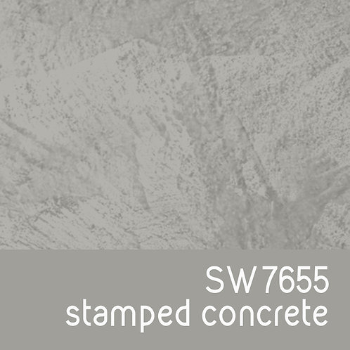 SW7655 Stamped Concrete