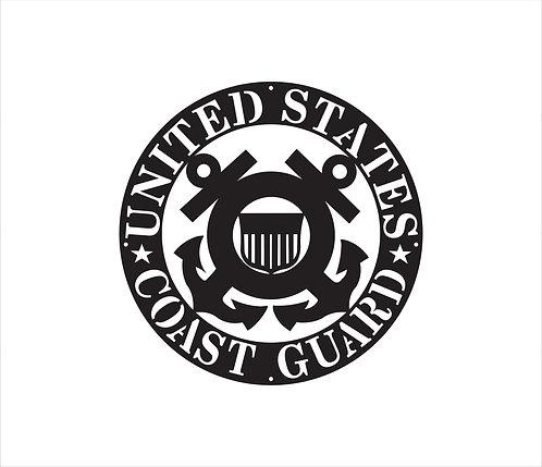 Coast Guard Seal Metal Sign