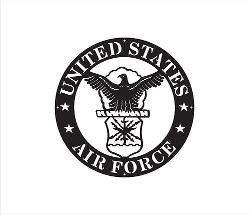 Air Force Seal Metal Sign
