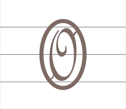 O Oval Monogram