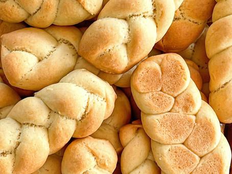 "Greek Orange Easter Cookies ""Koulourakia"""