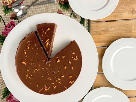 Chocolate Tart (No Bake)