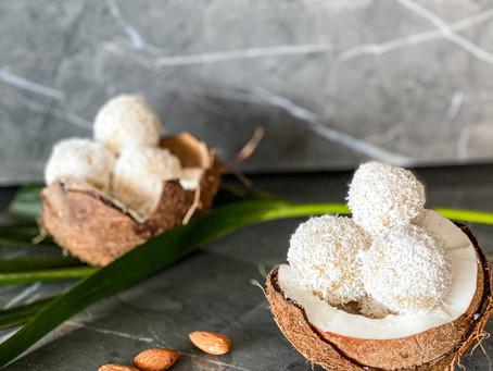 Homemade Marzipan Coconut Snowballs