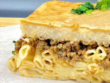Pastitsio (Greek Baked Pasta)