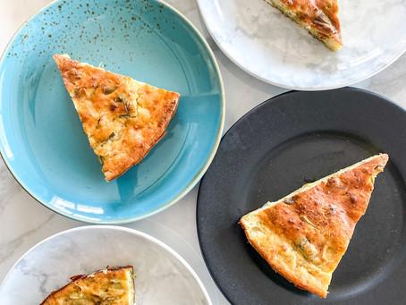 Greek No-Filo Leek Pie