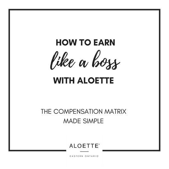 How to Earn like a Boss with Aloette
