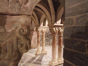 Cloisters, Elne, St Genis Fontaine
