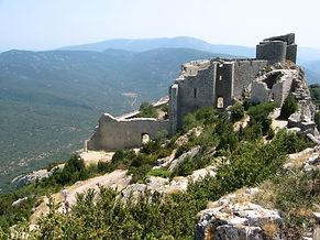 Peyrepertus, Queribus, Castle,