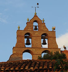 Trouillas, eglise, church, winery, vineyards, France, Roussillon