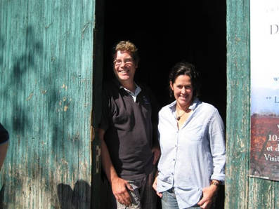 Jon and Rachel in 2008