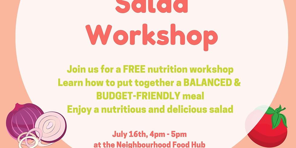 Summer Salad Workshop