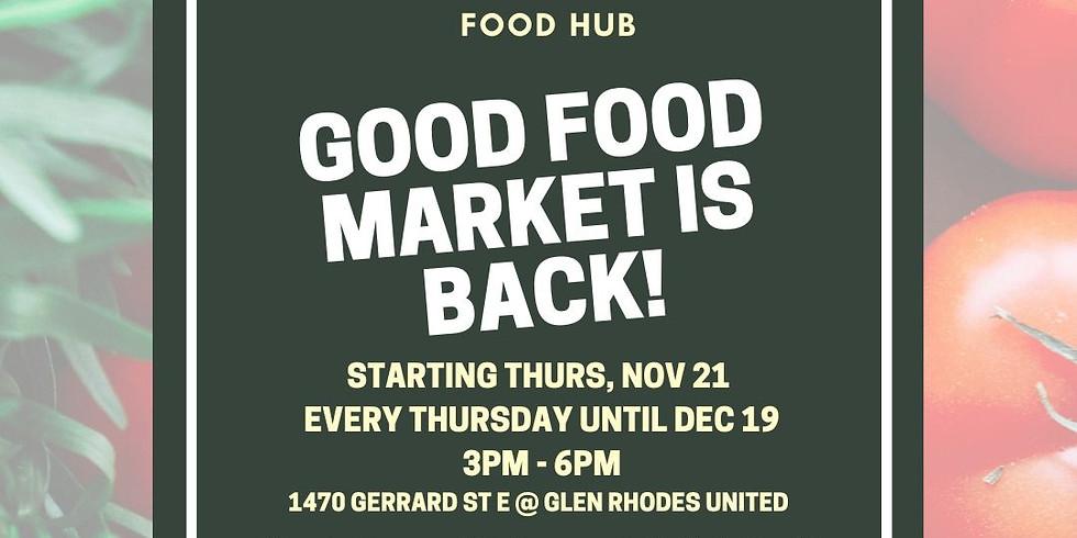 Good Food Market Dec 12th