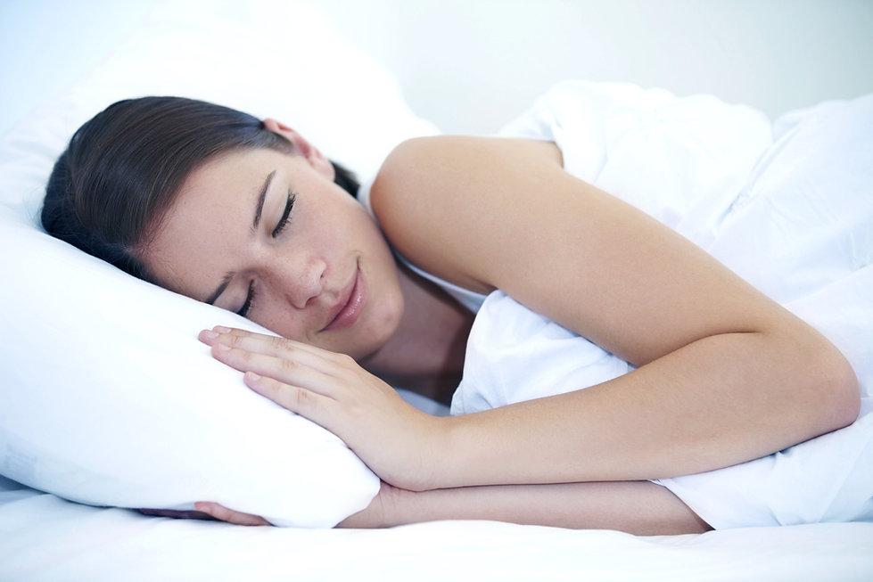 Slaap van de vrouw