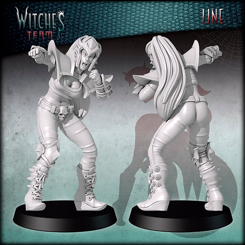 Line 4 - Witches Team