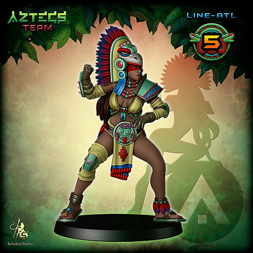 Line-atl 5 - Aztecs Team
