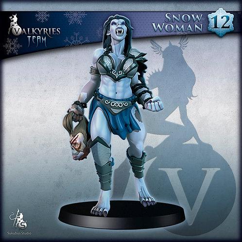 Snow Woman 12 - Valkyries Team