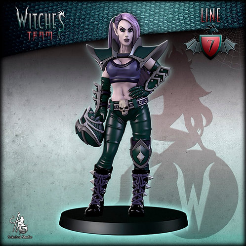 Line 7 - Witches Team