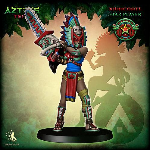 Xiuhcoatl - Star Player - Aztecs Team