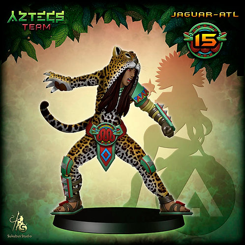 Jaguar-atl 15 - Aztecs Team