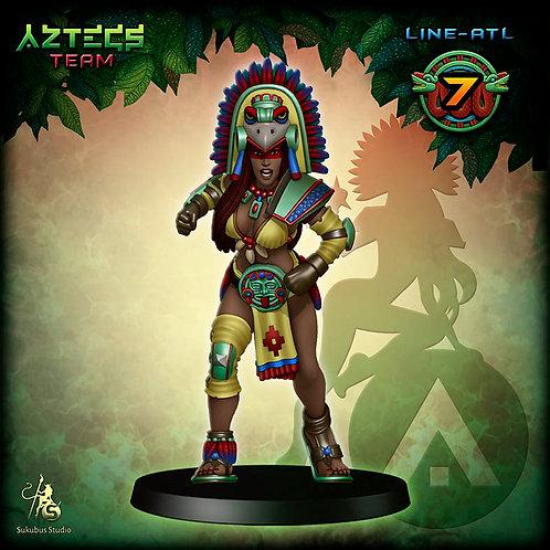 Line-atl 7 - Aztecs Team