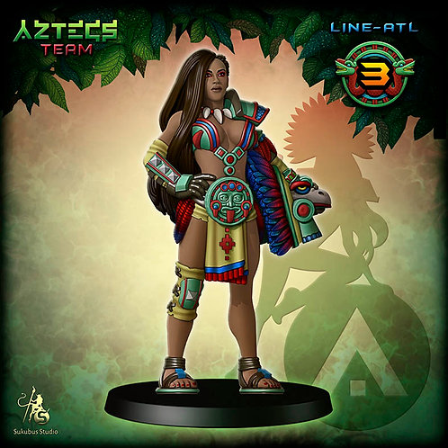 Line-atl 3 - Aztecs Team