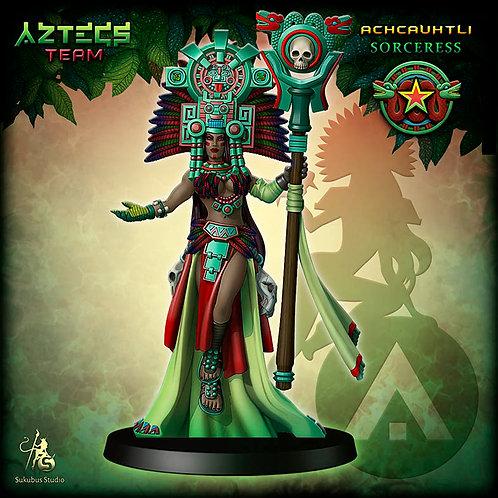 Achcauhtli - Sorceress - Aztecs Team