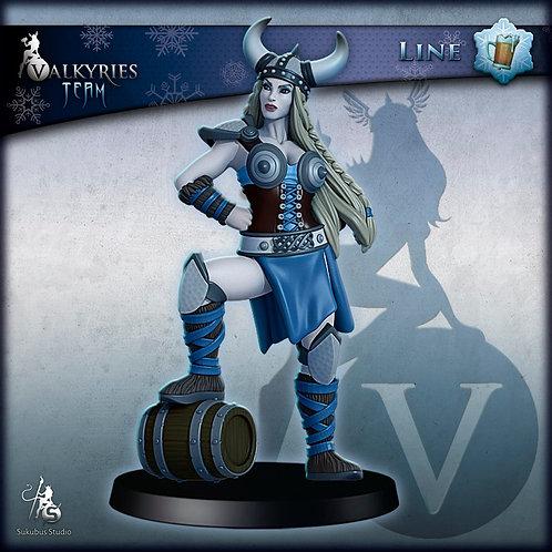 Line - Beer Keeper - Valkyries Team