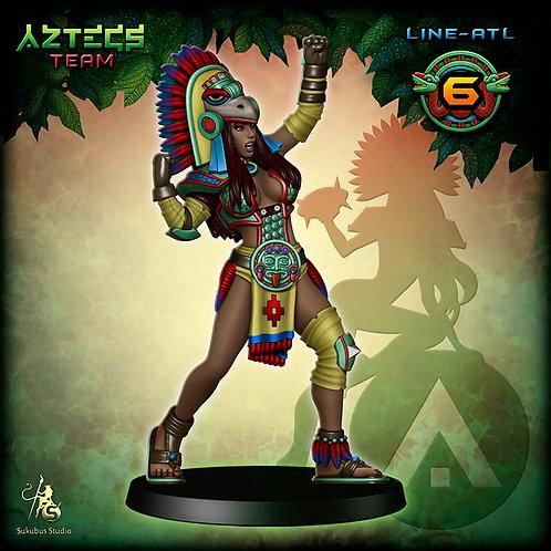 Line-atl 6 - Aztecs Team