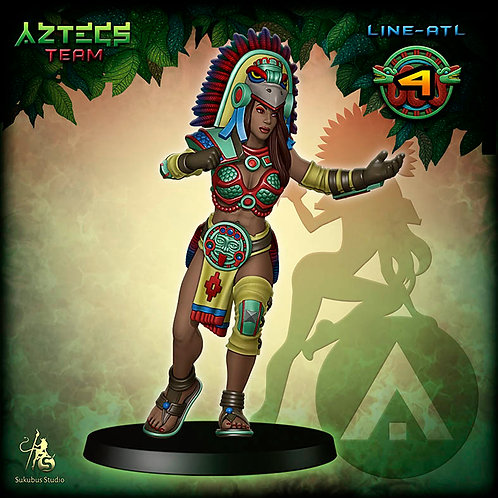 Line-atl 4 - Aztecs Team