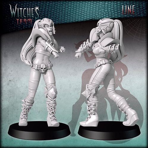 Line 5 - Witches Team