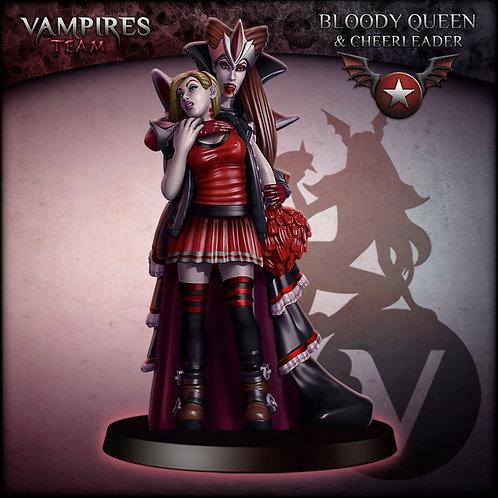 Bloody Queen & Cheerleader - Star Player - Vampires Team