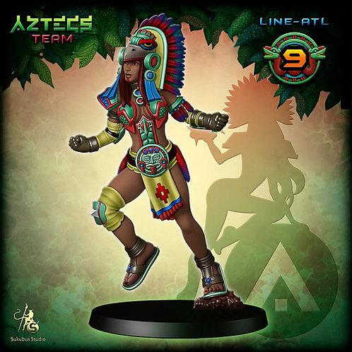 Line-atl 9 - Aztecs Team