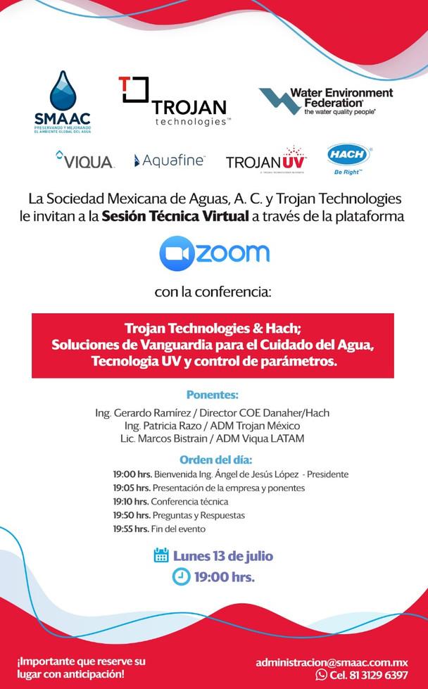 SESIÓN TÉCNICA - 13 JULIO 2020 -TROJAN TECHNOLOGIES