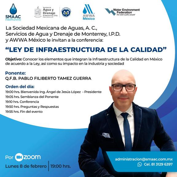Conferencia: Ley de Infraestructura de la Calidad