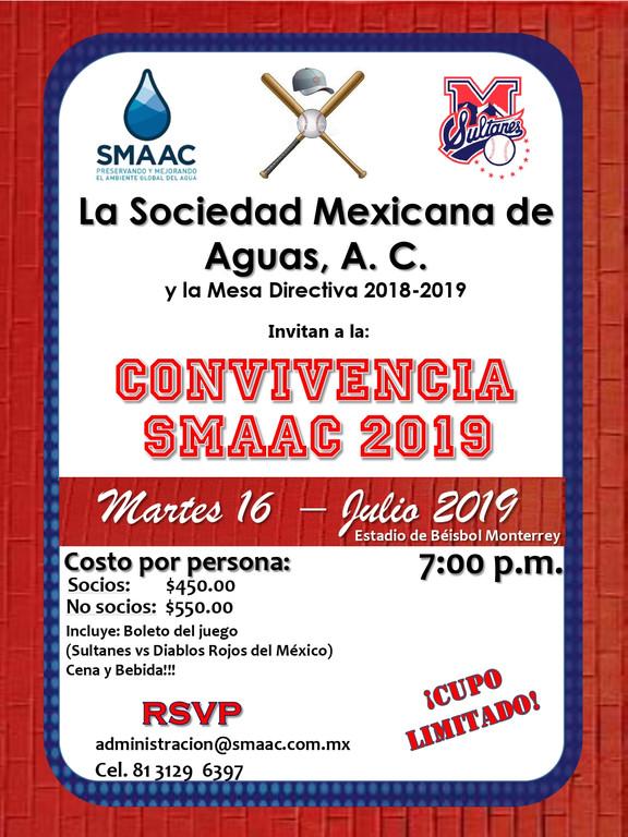 CONVIVENCIA SMAAC 2019