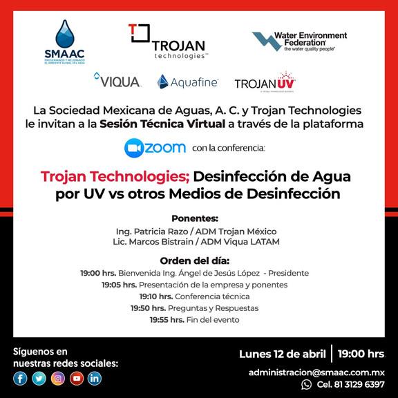 Trojan Technologies; Desinfección de Agua por UV vs otros Medio de Desinfección.